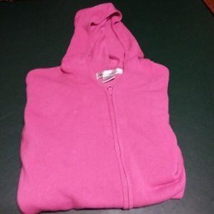 Women's zip up light weight sweater